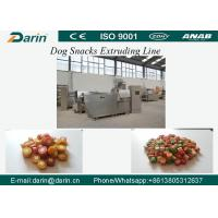 DRD-100/DRD-300 Semi wet Pet dog treats / Dog dental chews food extruder machine Manufactures