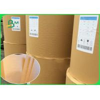 China 50GSM 60GSM Food Grade Paper Roll Uncoated Brown Food Wrapping Paper on sale