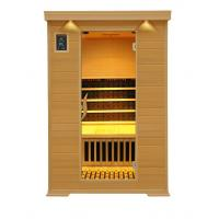 2people canadian hemlock  tourmaline infrared sauna room Manufactures