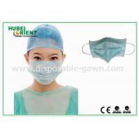 China Protective Disposable Face Mask / Non Woven Disposable Surgical Masks Free Samples on sale