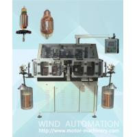 Skewed armature rotor winder double flyer lap winding machine for straight slot skew slot Manufactures