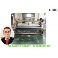 280cm Polyester Bedding Weaving Water Jet Loom Cam Motion Shedding Single Nozzle