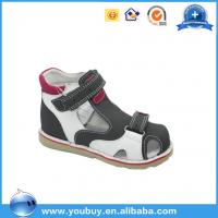 Beautiful Buckle Strap Easy Wear Orthopedic Sandals Shoes For Boys,Professional Hard Sole Shoes Manufactures