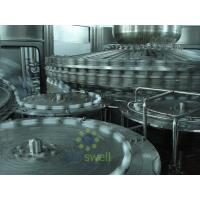 High Pressure Hot Filling Machine , Glass Bottled Juice Production Machine Manufactures