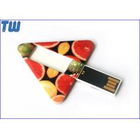 Cheap Geometry Triangle Card Swivel USB Flash Drive 2GB 4GB 8GB 16GB 32GB for sale