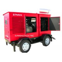 250KVA Trailer Mounted Mobile Diesel Generators 400V Voltage AC Three Phase Backup Power Manufactures