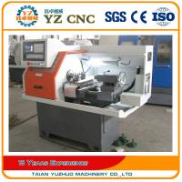 China Small Horizontal Flat Bed Micro CNC Lathe Machine With CE and SGS on sale