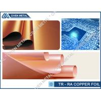 Double Shiny Rolling Copper Foil For FPC , Roll Size , Maximum Width 650 Manufactures