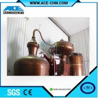 Copper Alcohol Distillation Equipment System For Sale & Copper Whiskey Still Equipment For Sale Manufactures