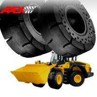 APEX 20.5-25 Solid Tire, Cushion Tyre for Wheel Loader, Integrated Tool Carrier, Elevating Motor Scraper Manufactures