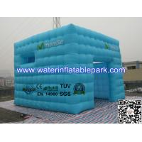 Sky Blue 5x5m Inflatable Tent For Advertising , 4 Season Outdoor Tent Manufactures