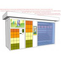 China Parcel Send / Collect Smart Vending Machine , All In One Service Kiosk For Mobile Phone Charge on sale