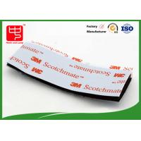 Strong Adhesive Hook and Loop Tape / Magic Custom Hook And Loop Patches With 3m Glue Manufactures