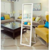 Framed Square Wall Decor Mirror in multicolour for living room