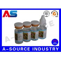 Cheap Custom Private Vial Label for Essential Oil storage and Steroids Kit Packing for sale