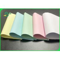 55g 80g Non - Toxic Carbonless Paper For Multiple Computer Printing Manufactures