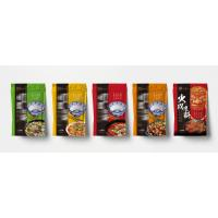 Quality Food Grade Recyclable Plastic Stand Up Pouches With Zipper For Condiment for sale
