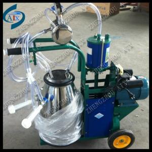 China high efficiency piston goat milking machine on sale