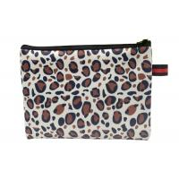 Cute Small Zippered Cosmetic Bag Insulated Customised Color For Promotion Manufactures