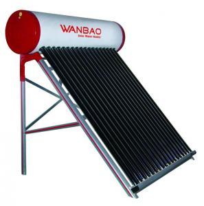 Compact non pressure bathroom solar geyser Manufactures