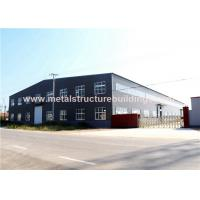 Quality Single Storey Steel Structure Warehouse Multifunctional Modular Design for sale