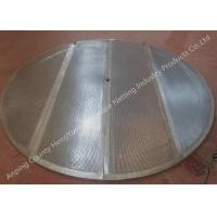 Stainless Steel Lauter Tun Screen Filter Beer Screen Wedge Wire Screen Panel Manufactures