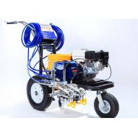 Quality Striping Road Line Marking Machine With Double Guns And Piston Pump for sale