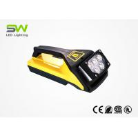IP65 15W 800 Lumen Battery Powered Led Work Light With Handle And Magnetic Base Manufactures