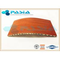 Quality Smooth Aluminum Honeycomb Board For Compartment Partition Tear Resistance for sale