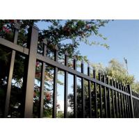 PVC Coated Pressed Spear Top Fencing Manufactures