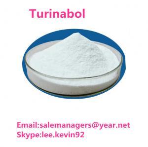 High Purity Turinabol Raw Powder CAS 2446-23-3 Chlorodehydromethyltestosterone Manufactures