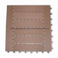 Decking Tiles, Installs easily, with Low Maintainance Manufactures
