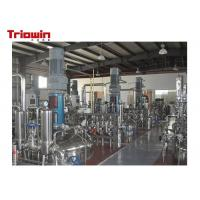 Three Stage Industrial Fermentation Equipment Used For Pharmaceutical And Food Industry Manufactures