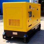 Tipo insonoro generadores del diesel