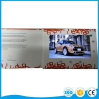 Cheap Printing 5 Inch Lcd Video Brochure Card For Business Promotion Or Wedding Gift for sale