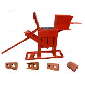 China manual brick press machine, ZS2-40 manual interlock brick press machine on sale