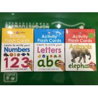 China Preschool Toddler Educational Flash Cards Paper Dry Eraser Memory Learning on sale