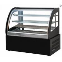 Green & Health Commercial Cake Display Cooler With Front Or Back Sliding Door Manufactures