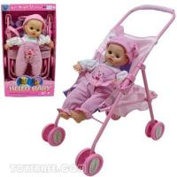 Doll - Baby Doll Buggy Stroller Set with Sound (DDC63063) Manufactures