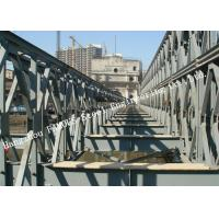 Modern Style Prefabricated Modular Bailey Suspension Bridge Galvanized Surface Treatment Manufactures