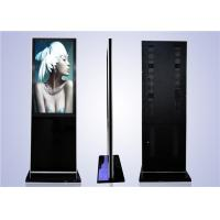 "Cheap LCD high quality 55"" floor stand remote control kiosk for sale"