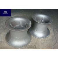 High Precision Carbon Steel Casting Metal Parts With Black Galvanized / Powder Coating Manufactures