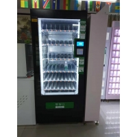 Big capacity combo snack drinks vending machine with lifetime free maintenance service Manufactures