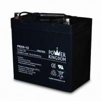 Solar Battery for 12V Voltage, 55Ah Nominal Capacity, Sized 229 x 138 x 210mm Manufactures