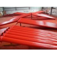 Quality Industrial Stock Seamless Steel Pipes Iron Steel Mateiral For Concrete Convey for sale