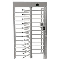 Full Height Pedestrian Turnstile Gate Stainless Steel High Security IC/ID Optional Manufactures