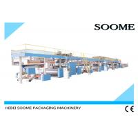 3 / 5 Ply Cardboard Production Line , Corrugated Production Line Process Sheet For Cartons