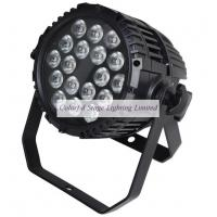 UL Listed 18x10W Outdoor RGBW Quad color Waterproof LED Par Stage Lighting Manufactures