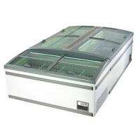 Ultra Freezer For Food Customized Island Chiller Professional Supermarket Equipment Manufactures