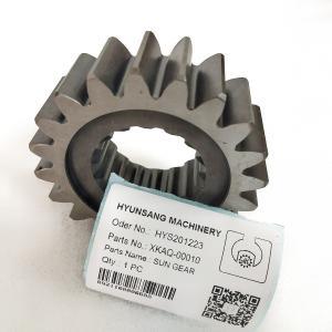 Excavator Swing Gear Sun Gear XKAQ-00010 XKAQ-00011 XKAQ-00014 For Hyundai R160LC9 Manufactures